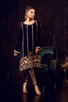 1a8eff07538 Check Out Sana Abbas Luxury Dandelion Embroidered Velvet Collection Replica  at Master Replica Pakistan Call WhatsApp
