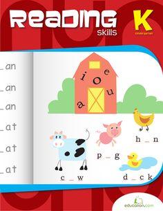 Workbooks: Kindergarten Reading Essentials