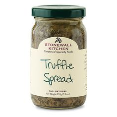 Truffle Spread - Incredibly rare and long considered a culinary delicacy, truffles have a wonderfully distinctive, earthy flavor.