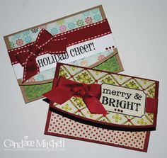 Scrappymo!s Gallery: Christmas Gift Card Holders