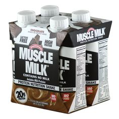 CytoSport Muscle Milk RTD Chocolate 11oz 3 4 pk 12 ct | Regular Price: $43.99, Sale Price: $36.99 | OvernightSupplements.com | #onSale #supplements #specials #CytoSport #ProteinRTDs  | Muscle MilkProtein Nutrtion ShakeContains No Milk Includes Milk Proteins 170 Calories 20g Protein Lactose Free These statements have not been evaluated by the FDA This product is not intended to diagnose treat cure or prevent any disease