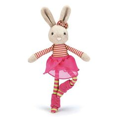 Jazzy Jiver Beige Bunny by jellycat