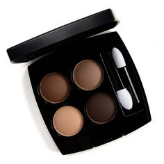 Chanel Clair-Obscur (308) Les 4 Ombres Multi-Effect Quadra Eyeshadow ($61.00 for 0.07 oz.) is a new, permanent all-matte neutral palette featuring a light