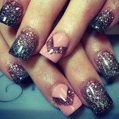 On average, the finger nails grow from 3 to millimeters per month. If it is difficult to change their growth rate, however, it is possible to cheat on their appearance and length through false nails. Cute Nail Art, Cute Nails, Pretty Nails, Sassy Nails, Cute Summer Nails, Spring Nails, Fall Nails, Diy Nail Designs, Acrylic Nail Designs