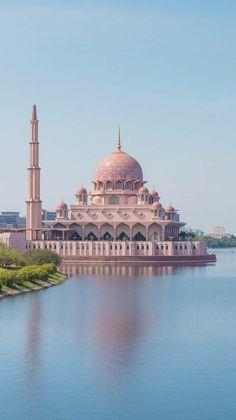Beautiful Mosques, Colorful Wallpaper, Islam, Beauty, Beauty Illustration