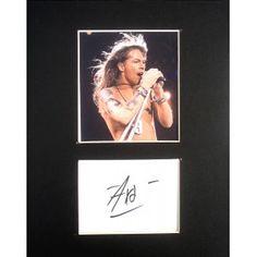 Axl Rose Autograph…