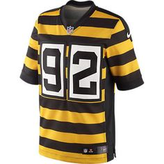 Pittsburgh Steelers 2012 Authentic Nike Elite Home Jersey