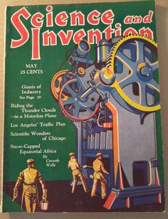 MAY 1930 SCIENCE AND INVENTION MAGAZINE- DUNNINGER MAGIC, SAM LOYD PUZZLES
