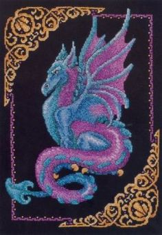 This page contains some of the most unique and beautiful dragon cross stitch patterns available. The page is divided into sections for easy referencing...