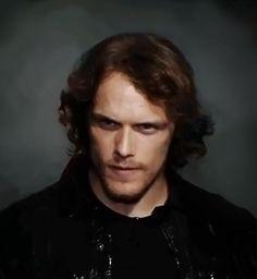 Sam Heughan! A Scotsman in my sci-fi story?! Ohhhhhh! I like that idea!