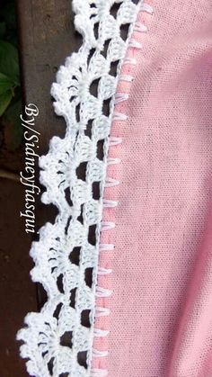 New crochet lace afghan pattern free knitting ideas Crochet Boarders, Crochet Edging Patterns, Crochet Lace Edging, Crochet Trim, Crochet Doilies, Knitting Patterns, Crochet Edgings, Knitting Ideas, Free Knitting