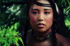 Most Beautiful Native American Women | The Most Beautiful Women from Every Corner