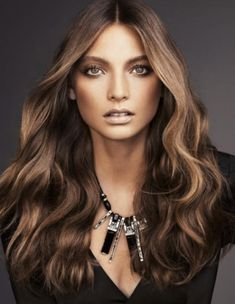 Hazelnut Brown Hair