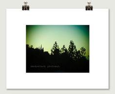 LA Sunset Modern Pop Pinhole Photograph by SmokestackPhotomat, $10.00