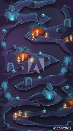 Buy Night of the Dead - Seamless Background Level Map by Nearbirds on GraphicRiver. Night of the dead – seamless background level map Vertical seamless background in mobile format for your web/video ga. Game Background Art, Seamless Background, Bg Design, Game Ui Design, Map Games, Board Games, Avatar Aang, Night Of The Dead, Lilo E Stitch