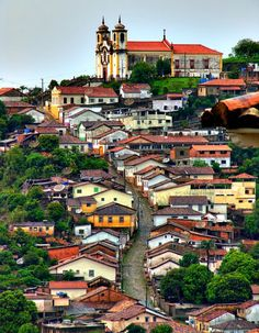 Beautiful city - Ouro Preto - Minas Gerais (Brazil)