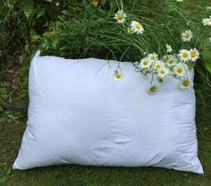 The Shepard's Pillow - 100 percent wool filled pillows by Micheleshats on Etsy