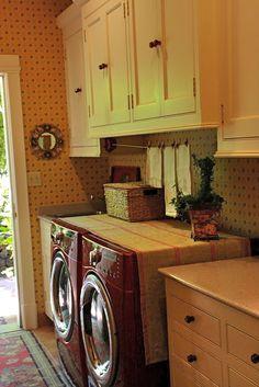 vignette design: Summer Showcase of Homes - Vignette Design Laundry room