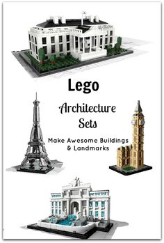 Lego Architecture Buildings and Landmarks