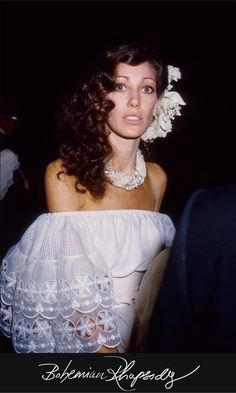 wedding dress peasant bohemian off shoulder. The Best Model Weddings On and Off the Pages of Vogue - Vogue - Marisa Berenson and industrialist James Randall, 1976 rocker bride wedding dress supermodel gown white peasant off shoulder ruffle mexican Bianca Jagger, Vintage Mexican Wedding, Vintage Bridal, Diana Vreeland, Poppy Delevingne, Vanity Fair, Jamie Hince, Boho Wedding Dress, Wedding Dresses
