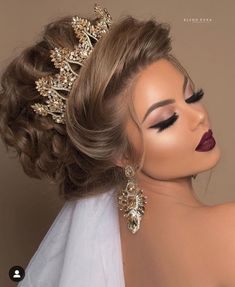 Die 10 besten hellen Frisuren (in der Welt) - Wedding Makeup For Fair Skin Easy Hairstyles For Medium Hair, Medium Hair Styles, Natural Hair Styles, Short Hair Styles, Wedding Hair And Makeup, Bridal Makeup, Bridal Hair, Hair Makeup, Makeup Hairstyle