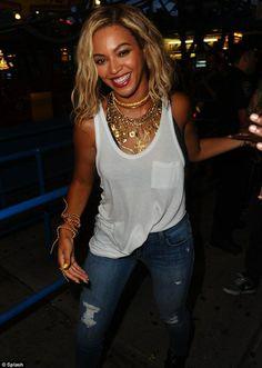 Beyonce wearing T by Alexander Wang Classic Tank with Pocket | Tops | Augusta Twenty #tbyalexanderwang #beyonce