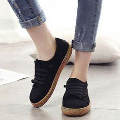 Hot-sale Big Size Soft Multi-Way Wearing Pure Color Flat Loafers - NewChic  Mobile.