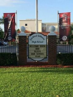 Cardinal Gibbons High School Welcome back