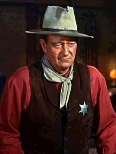 John Wayne, great American playing the role of Chance in Rio Bravo. …