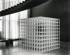 Nine-part Modular Cube by Sol LeWitt | The Art Institute of Chicago