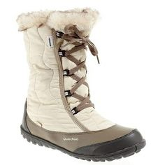 Quecha Tika boots!!! I based my decision on practicality. I tried them in the store and they were warm and comfortable. (1.20pm November 10th, 2013 @ Decathlon in Amsterdam Bijlmer Arena)