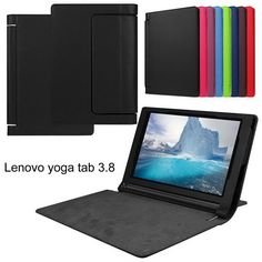 """12.79$  Buy now - http://alimoh.shopchina.info/go.php?t=32568146654 - """"Premium Flip PU Leather Smart Back Cover for Lenovo yoga tablet 3 8""""""""850F YT3-850F 850L 850M Stand Case+Stylus/Pen free Shiping""""  #buyininternet"""