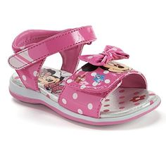 Disney Toddler Girls Minnie Mouse Sandal Light-up 11 Girls Shoes, Baby Shoes, Expensive Sports Cars, Toddler Shoes, Toddler Girls, Baby Girls, Disney Shoes, Cute Baby Clothes, Baby Items
