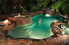 Love this POOL! http://media-cache8.pinterest.com/upload/51298883225562907_LRkNbxCk_f.jpg kim6818 swimming pools
