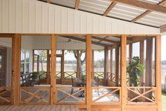 Fixer Upper: The All American Farmhouse - Architecture Designs Fixer Upper: The All American Farmhouse architecture-desi. Screened Porch Designs, Screened In Patio, Front Porch, Home Porch, House With Porch, Tin Roof House, Building A Porch, Building A House, Building Ideas