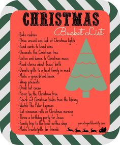 christmasbucketlist