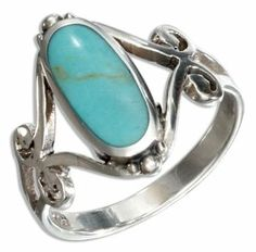 Love turquoise rings!