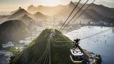 7 Must-See Places in Rio de Janeiro, Brazil Best Places To Travel, Cool Places To Visit, Places To Go, Brazil Vacation, Brazil Travel, Visit Rio, Safari, Travel Channel, Round Trip