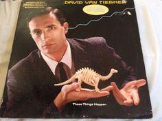 David Van Tieghem These Things Happen Lp Vinyl PROMO