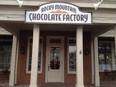 Rocky Mountain Chocolate Factory In Delafield, Wisconsin.  Wonderful Place. Loved The Chocolate Covered Peanuts With Carmel - Known There As Chocolate Bears. They Have An Assortment Of Light Or Dark Chocolate.