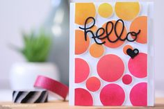 Stampin' Up! Hello You Thinlits