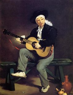 The Spanish Singer - Edouard Manet