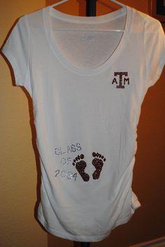 Aggie Maternity Shirt. So cute!!