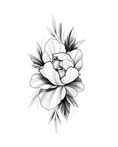 Rose Tattoos, Flower Tattoos, Tattoo Studio, Flor Oriental Tattoo, Tatto Mini, Art Drawing Images, Japanese Flower Tattoo, Drawing Clipart, Flower Sketches
