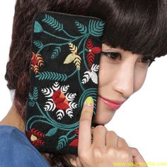 #Swanmarks Liebo New Embroidery Clutches
