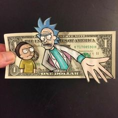 Rick and Morty x One Dollar
