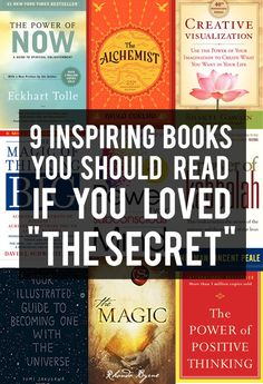 """9 Inspiring Books That Should Be As Famous As """"The Secret"""""""