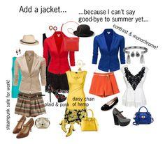 """Add a jacket..."" by katterley on Polyvore featuring City Chic, Doublju, Abercrombie & Fitch, Nine West, Sam Edelman, Sole Society, MANGO, ALDO, Bebe and Shellys"
