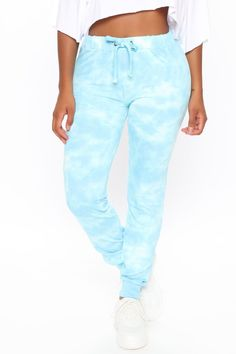 Available In Blue. Tie Dye Jogger Pant Drawstring Waist French Terry Stretch 60% Cotton 40% Polyester Imported Disclaimer: Due To The Specialized Dye ... Jogger Pants, Joggers, Sweatpants, Curvy Women Fashion, Womens Fashion, Plus Size Pants, Drawstring Pants, French Terry, Tie Dye