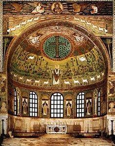 Más clases de arte: Iglesias de Rávena I: San Apolinar el Nuevo y San Apolinar in Classe (siglo VI d C.)